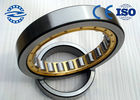 China P6 Cylindrical Roller Bearing NU / NJ 206 GCR 15 With Double Row Chrome Steel Brass Cage company