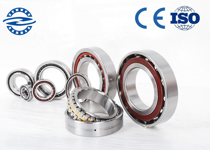 7006CTA / P5 Single Row Angular Contact Ball Bearing 30 × 55 × 13mm For Industrial