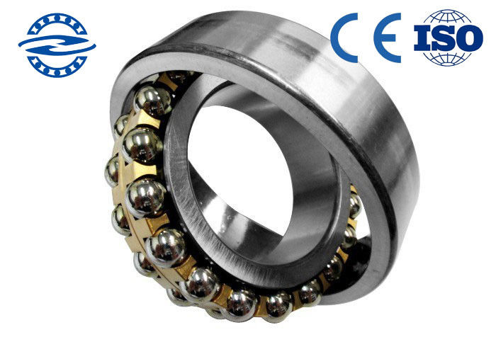 2208ATN Single Row Ball Bearing Spare Parts 40mm * 80mm * 23mm For Construction Machinery