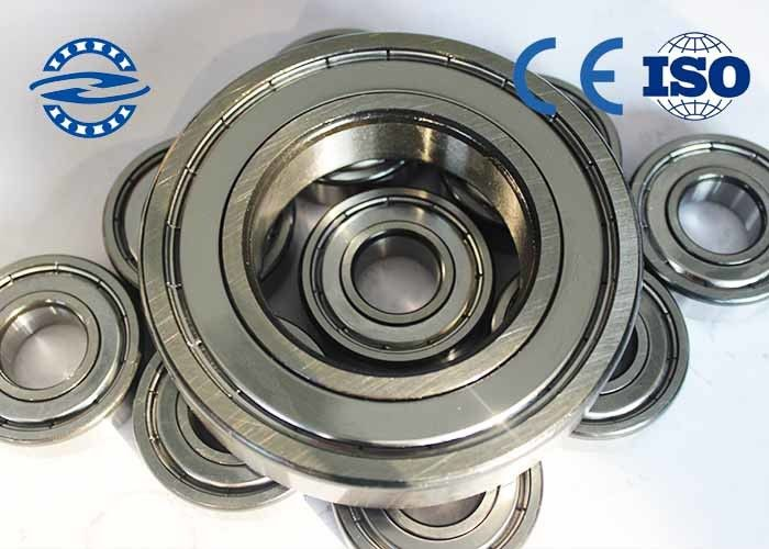 High Precision Ball Bearings , Miniature Ball Bearings 6005Z For Bearing Radial Load