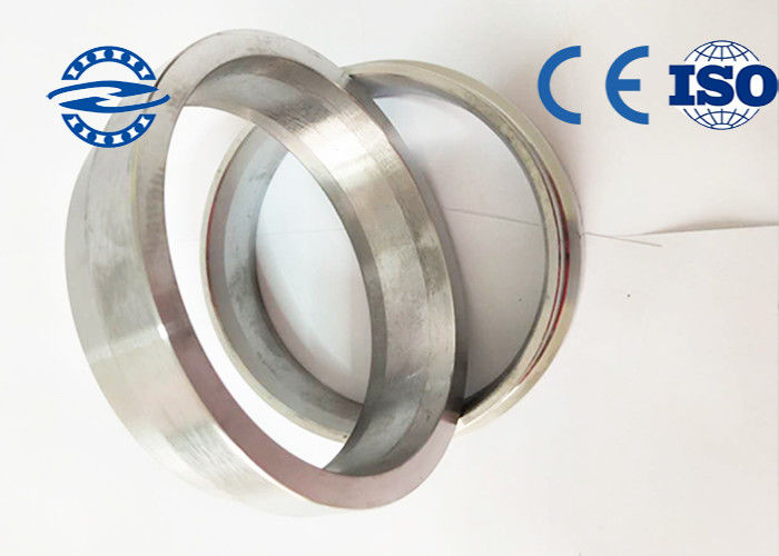 Forged Stainless Steel Bearing Inner Ring ,16mn Concrete Pump Pipe Flange For Chemical Industries