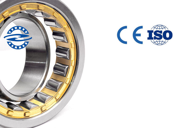 Stable Performance Cylindrical Stainless Steel Roller Bearings NU319 For Motorcycle