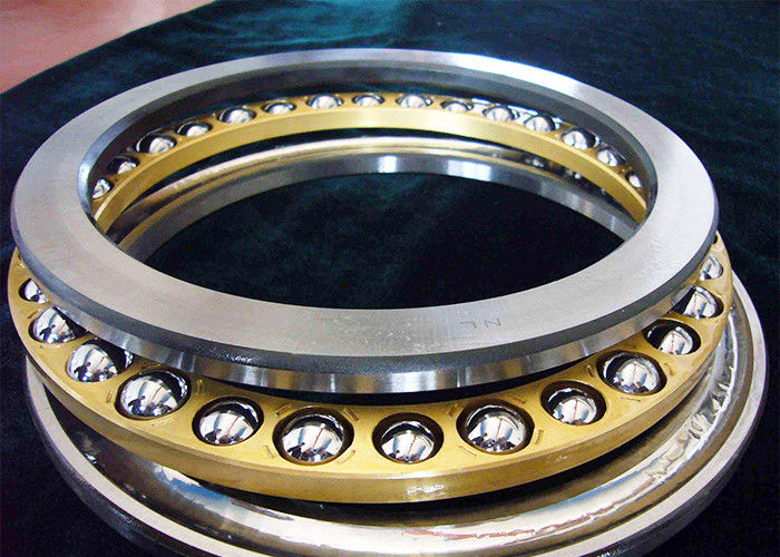 Corrosion Resistant Double Thrust Bearing 51108 , Machine Tool Open Ball Bearing