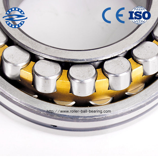 22211 Spherical Roller Bearing / Brass Cage Bearings weight 0.82kg