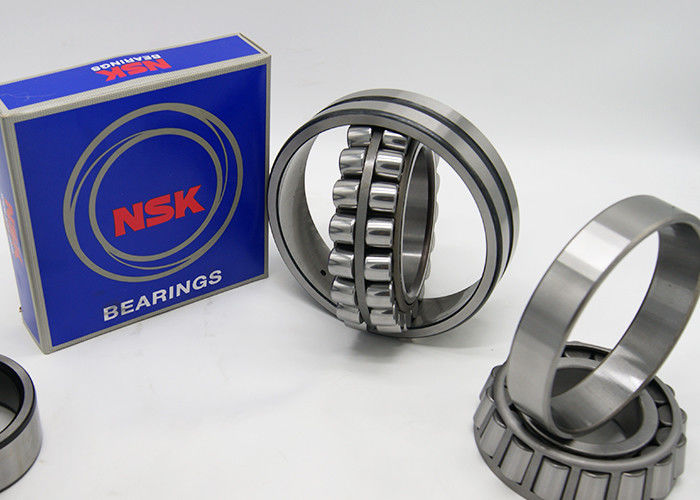Radial NSK Brass Roller Cage Bearing With Taper Bore 23032CA W33