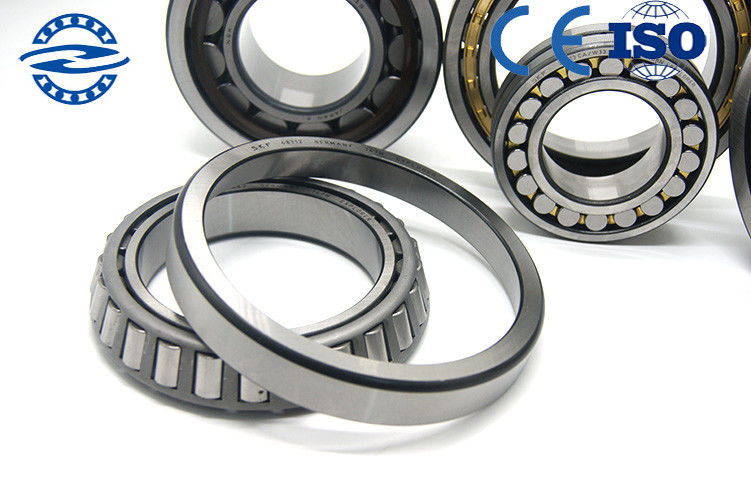 High Lubrication Chrome Steel Single Row Tapered Roller Bearing Bore Diameter 95mm