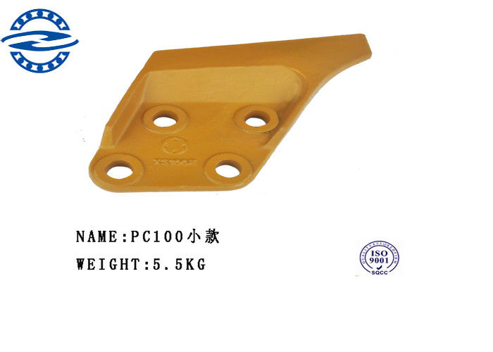Abrasion Resistant Excavator Bucket Side Cutter for PC100 PC200 PC300 PC400