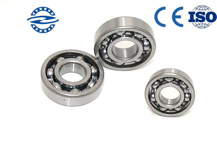 Open 6209 Deep Groove Ball Bearing High Precision Rating And Minor Error