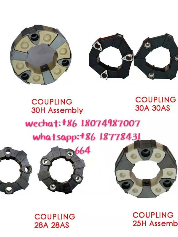 High Performance Excavator Spare Parts Rubber Coupling 28A / 28AS