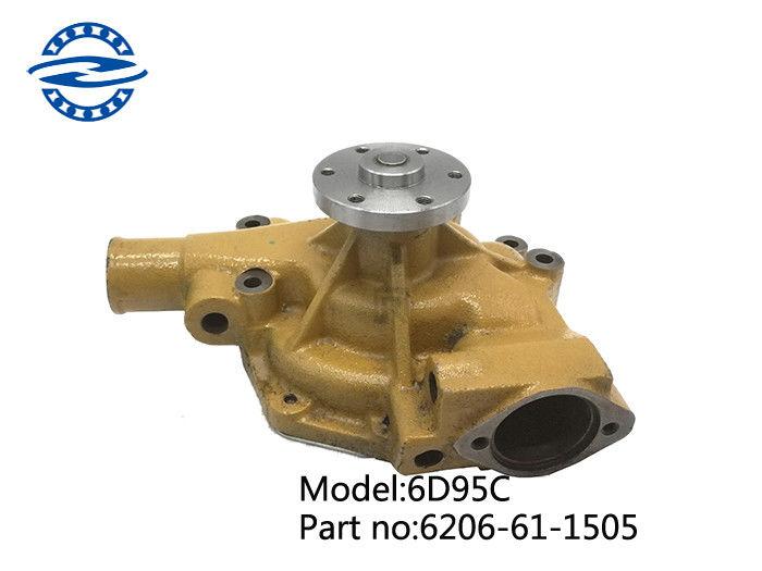 6D95L 6206-61-1505 Water Pump for Excavator Engine Diesel Parts