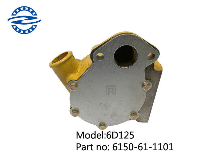 6D125 Diesel Water Pump 6150-61-1101 For Excavator Engine Cooling System