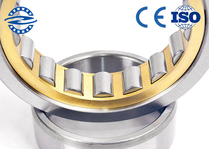 Single Row Cylindrical Roller Bearing NU / NJ 203 For Machinery / Dynamos