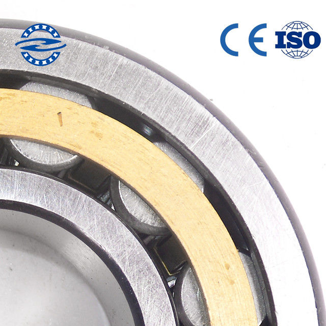 Two Row Cylindrical Roller Bearing NU / NJ 205 Open Seals Type Outside Diameter 52mm