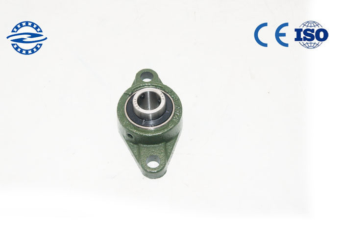 Steel Cage UCFL205 Pillow Ball Bearing Combined Radial And Axial Load