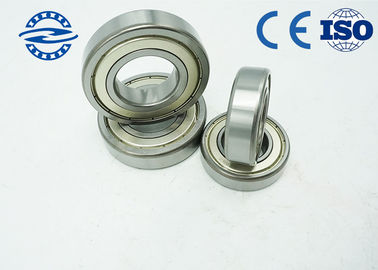 China High Speed Single Row Ball Bearing , 6006 - 2RS1 Small Ball Bearings 30 × 55 × 13mm factory