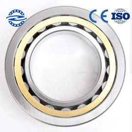 Brass Cage Bearings cylindrical roller bearing  OF NU / NJ203 bearing