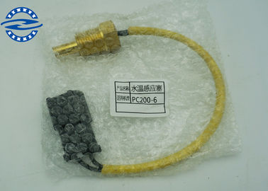 Heavy Duty Excavator Water Fuel Temperature Temp Switch For Komatsu PC200 PC220-6 6D102 7861-92-3380