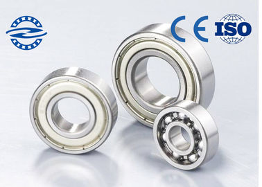 6303 High Rotating Speed Single Row Deep Groove Ball Bearing Low Noise Low Vibration