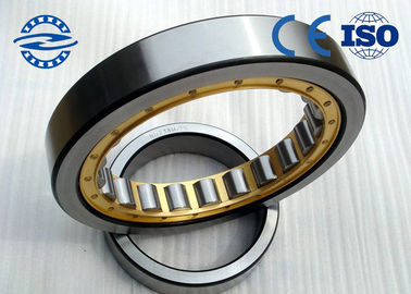 P6 Cylindrical Roller Bearing NU / NJ 206 GCR 15 With Double Row Chrome Steel Brass Cage