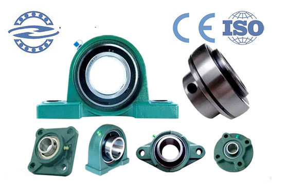 Low Noise Agricultural Machinery UC205 Pillow Ball Bearing