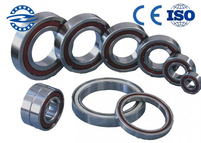 Miniature Angular Contact Bearings , Precision Ball Bearings 7005 / P4 25 * 47 * 12mm