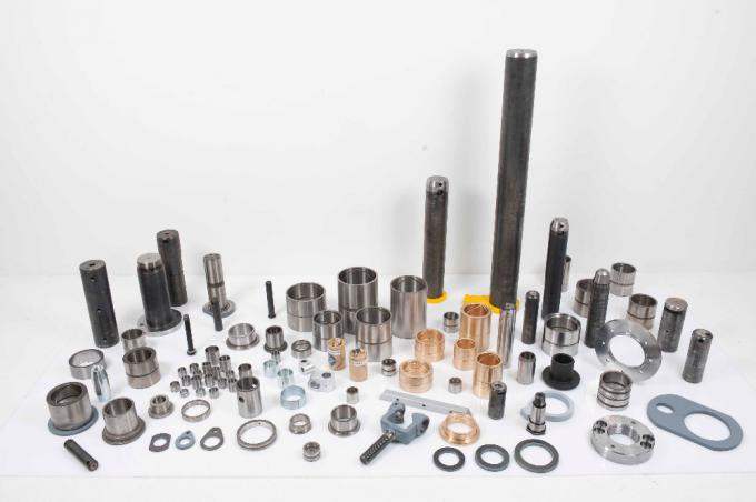 Stainless Steel Bushing Sleeve , Custom Pins And Bushes For Excavators
