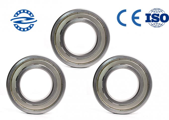 6007zz/Rs Deep Groove Ball Bearing In High - Rotating Speed And Low Noise