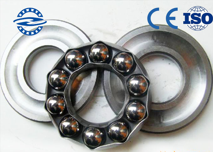 Small Size Thrust Ball Bearing 51406 0.53 KG 30mm * 70mm * 28mm For Mine Machine