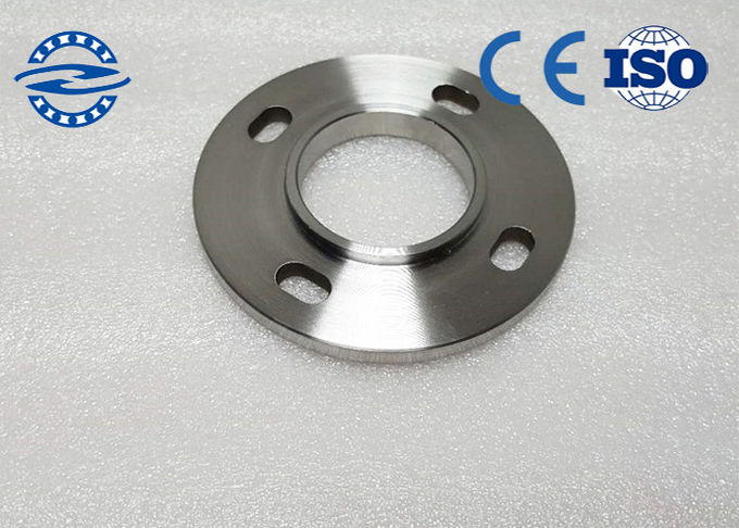 Customized Metal Bearing Spare Parts / Hydraulic Pipe Flanges For Mine Equipment