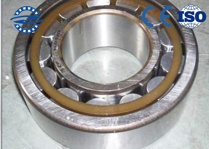 High Temperature Roller Bearings , NJ2311M Cylindrical Single Row Roller Bearing