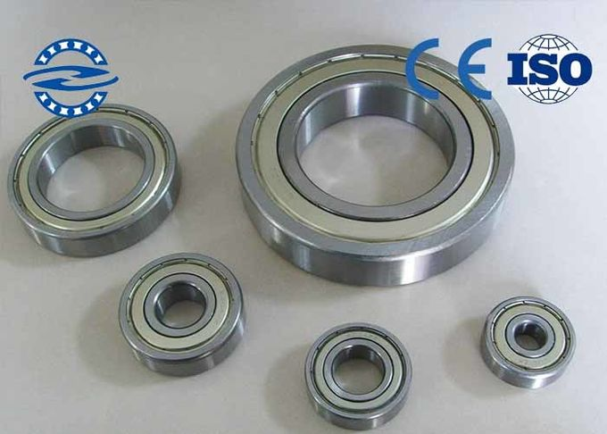 Structure Simple Deep Groove Motor Ball Bearing 6018 2Z / Automobile Bearing