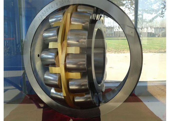 Low Friction NJ208 Cylindrical Roller Bearing / GCR15 Material Flanged Bearing 1