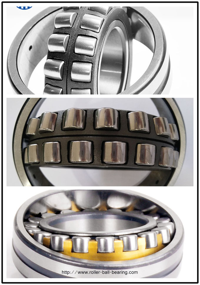 Durable Double Row Roller Thrust Bearing 22208 Series With 40mm Bore Size