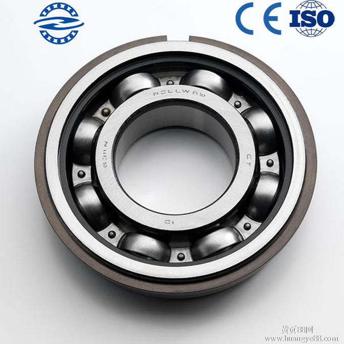 Low Vibration Chrome Steel Open Deep Groove Ball Bearing 6303 For Vehicle